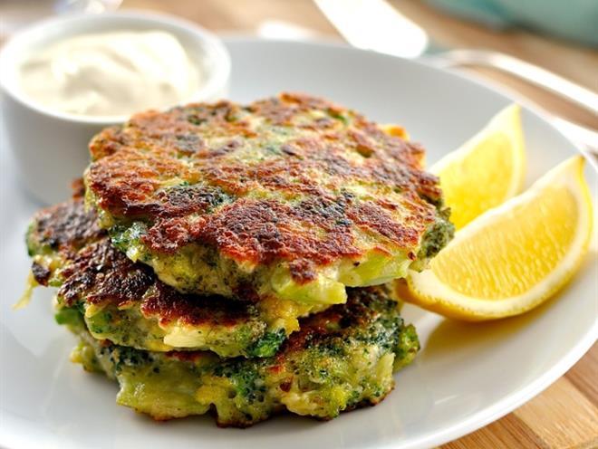 Broccoli Fritters - foodonomy