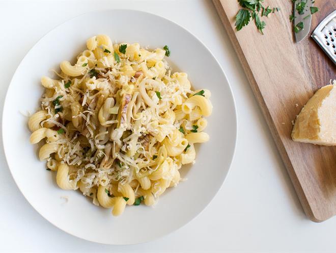 Lemon, Parsley and Leek Pasta - foodonomy