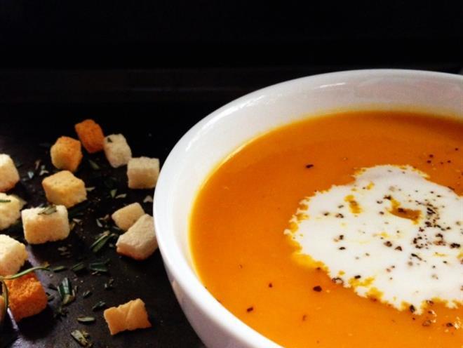 Pumpkin and Coconut Milk Soup - foodonomy