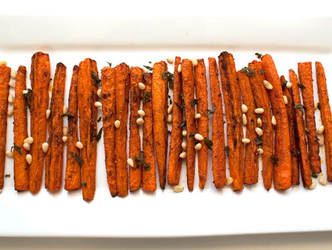 Moroccan Spiced Carrots - foodonomy
