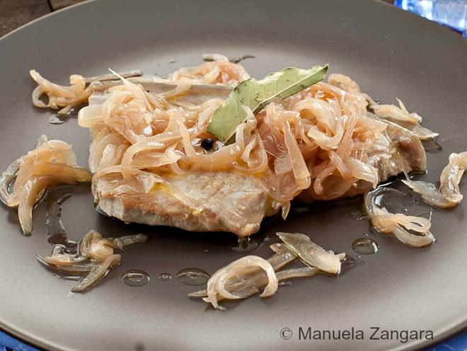 Sweet And Sour Tuna With Onions - foodonomy